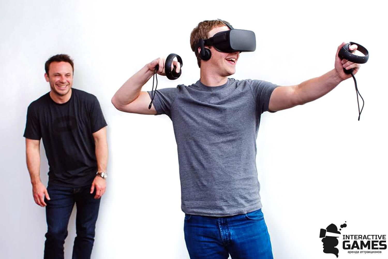 Очки VR Oculus Rift Touch