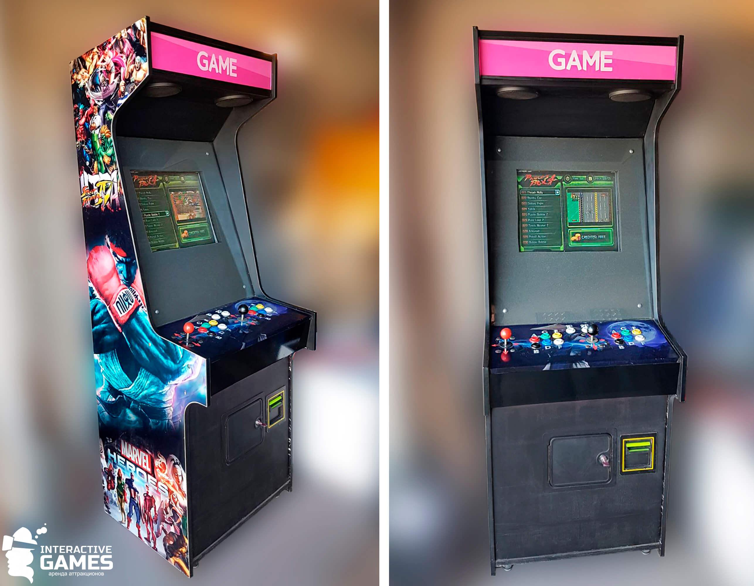 взять игровой автомат в аренду